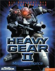 Cover von Heavy Gear 2