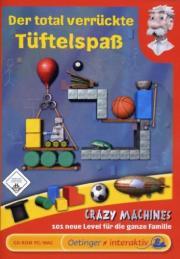 Cover von Crazy Machines - Der total verrückte Tüftelspaß