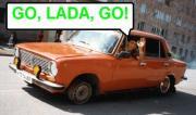 Cover von Go, Lada, Go!