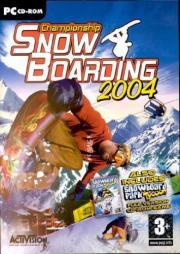 Cover von Championship Snowboarding 2004