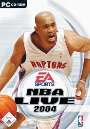 Cover von NBA Live 2004