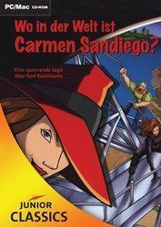 Cover von Wo in der Welt ist Carmen Sandiego?