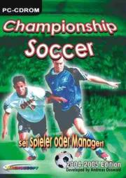 Cover von Championship Soccer