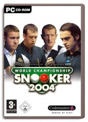Cover von World Championship Snooker 2004
