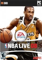 Cover von NBA Live 08