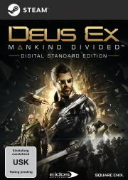 Cover von Deus Ex - Mankind Divided