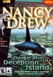 Cover von Nancy Drew - Danger on Deception Island