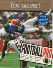 Cover von Front Page Sports Football Pro