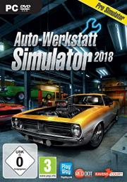 Cover von Auto-Werkstatt Simulator 2018