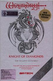Cover - Wizardry 2 - The Knight of Diamonds (e)