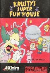 Cover von Krusty's Super Fun House