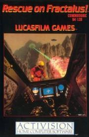 Cover von Rescue on Fractalus