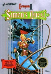 Cover von Castlevania 2 - Simon's Quest