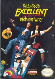 Cover von Bill & Ted's Excellent Video Game Adventure