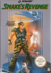 Cover von Snake's Revenge