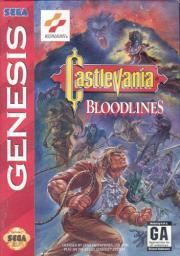 Cover von Castlevania - Bloodlines