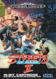Cover von Streets of Rage 2