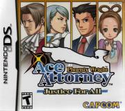 Cover von Phoenix Wright - Ace Attorney: Justice for All
