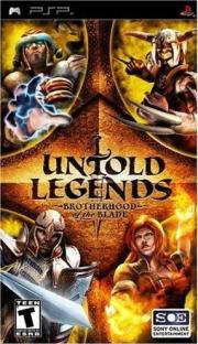 Cover von Untold Legends - Brotherhood of the Blade