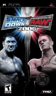 Cover von WWE - SmackDown! vs. Raw 2006