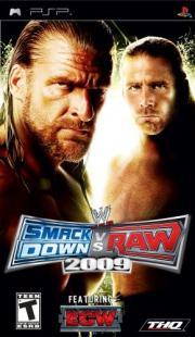 Cover von WWE - SmackDown! vs. Raw 2009
