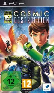 Cover von Ben 10 Ultimate Alien - Cosmic Destruction