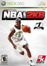 Cover von NBA 2K8