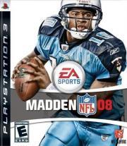 Cover von Madden NFL 08
