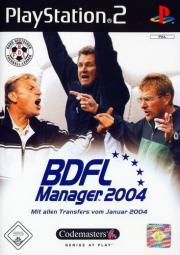 Cover von BDFL Manager 2004