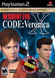 Cover von Resident Evil - Code: Veronica - X