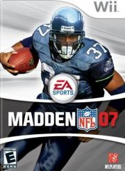 Cover von Madden NFL 07