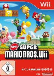 Cover von New Super Mario Bros. Wii