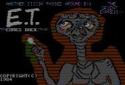 Cover von E.T. Comes Back