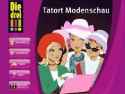 Cover von Die drei !!! - Tatort Modenschau