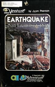 Cover von Earthquake - San Francisco 1906