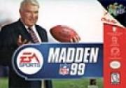 Cover von Madden NFL 99