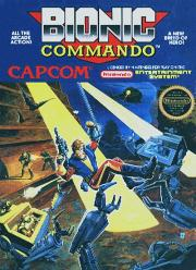 Cover von Bionic Commando (1988)